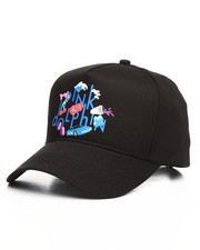 Pink Dolphin - Vice Script Strapback Hat