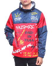 Buyers Picks - Graffiti Print Windbreaker