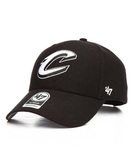 '47 - Cleveland Cavaliers Black MVP Wool Strapback Cap