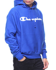 Champion - Reverse Weave Full Script Pullover Hood