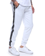 Buyers Picks - SIDE STRIPE METALLIC STRIPE JOGGER