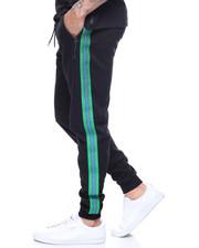 Sweatpants - SIDE STRIPE METALLIC STRIPE JOGGER-2193449