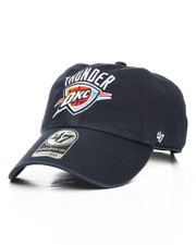 NBA, MLB, NFL Gear - Oklahoma City Thunder Clean Up Strapback Cap