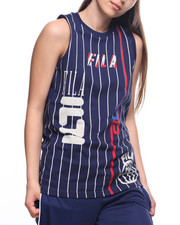 Fila - Kaz S/L Stripe Logo Tee
