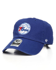 NBA, MLB, NFL Gear - Philadelphia 76ers Clean Up Strapback Cap