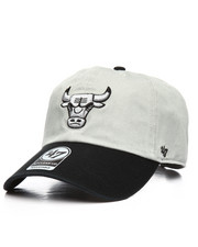 NBA, MLB, NFL Gear - Chicago Bulls Two Tone Clean Up Strapback Hat