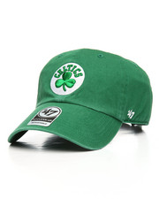 NBA, MLB, NFL Gear - Boston Celtics Clean Up Strapback Hat