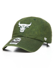 NBA, MLB, NFL Gear - Chicago Bulls Cement Alt Clean Up Strapback Hat