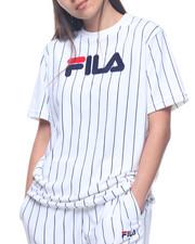 Fila - Tux Velour Stripe Tee