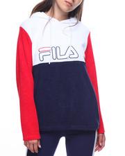 Fila - Lux Color Block Logo Hoodie-2193831
