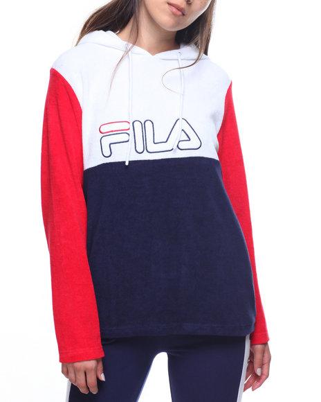 Buy Lux Color Block Logo Hoodie Women's Hoodies from Fila. Find Fila ...