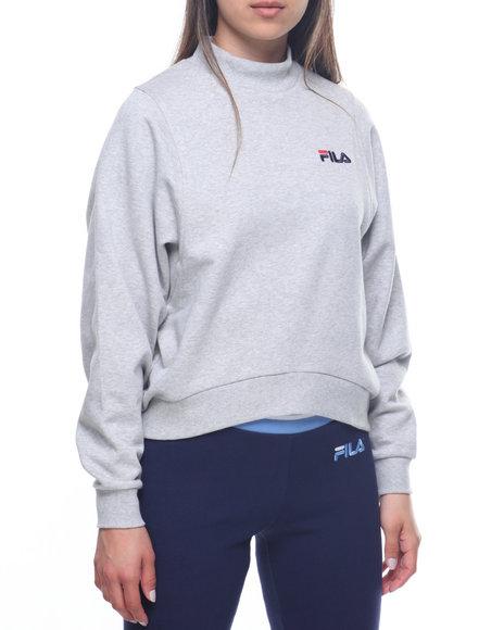 db981f45e0881 Buy Summer Solid Fleece Sweatshirt Women's Tops from Fila. Find Fila ...