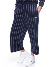 Sweatpants - Iona Velour Stripe Culotte-2193783