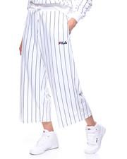Sweatpants - Iona Velour Stripe Culotte-2193741