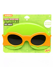 Sun Staches - TMNT Michelangelo Kids Sunglasses-2192418