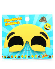 Sun Staches - Laughing Emoji Sunglasses-2192423