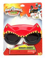 Sun Staches - Power Rangers Red Ranger Kids Sunglasses
