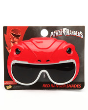 Sun Staches - Red Ranger Sunglasses