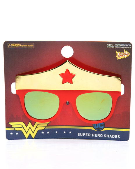 Sun Staches - Wonder Woman Kids Sunglasses