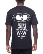 Wu Wear - Straight From the Grains Globe Logo T-2194592