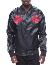 Light Jackets - Scarlet Rose Souvenir  Jacket