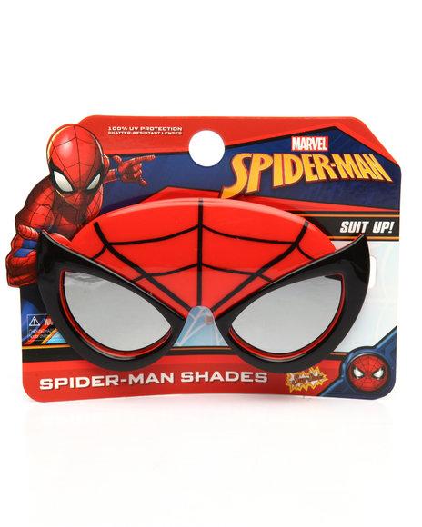 Sun Staches - Spider Man Kids Sunglasses