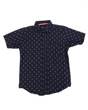 Tops - Anchor All-Over Print Woven (8-20)