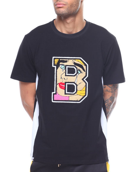 25cca360671d9d Buy MELANCHOLY TEE W CHENILLE PATCH Men's Shirts from Buyers Picks ...