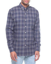 Stylist Picks - SEATTLE PLAID DISTRESSED BUTTONDOWN SHIRT-2194079