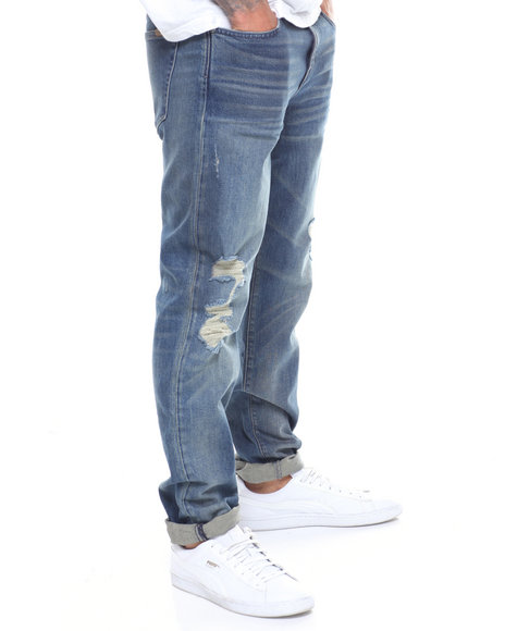 Joe's Jeans - THE SLIM FIT/ BURNS/DISTRESSED JEAN