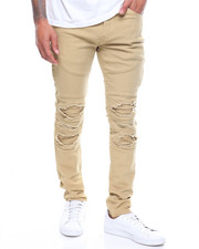 Buyers Picks - SEAMED BLOWN OUT KNEE MOTO PANT-2193954