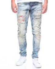 Heritage America - PATCH DECAL DISTRESSED JEAN