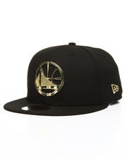New Era - 9Fifty Golden State Warriors Metal Framed Snapback Cap
