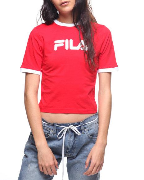 39db974cdb3 Buy Tionne Crop Ringer Tee Women s Tops from Fila. Find Fila fashion ...