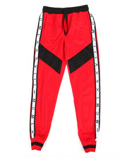 Arcade Styles - Color Blocked Tricot Jogger (8-20)