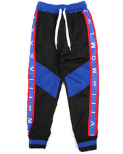 Arcade Styles - Color Blocked Tricot Jogger (2T-4T)