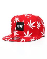 Hats - Puff Marijuana Snapback Hat