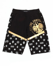 Bottoms - Foil Print Shorts (8-20)