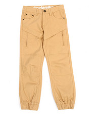 Bottoms - Twill Knee Patch Jogger (8-20)