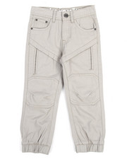 Bottoms - Twill Knee Patch Jogger (4-7)