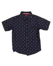 Short-Sleeve - Anchor All-Over Print Woven (4-7)