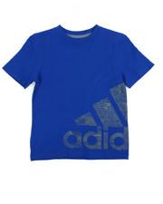 Adidas - Adidas Supreme Speed Logo Tee (2-7X)
