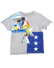 Akademiks - Color Block Tee (2T-4T)-2195851