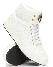 FARANZI - Lion Studded High Top Sneakers-2196068