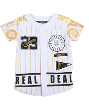 SWITCH - Foil Print Baseball Jersey (4-7)-2195642