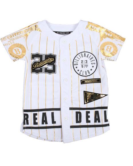 SWITCH - Foil Print Baseball Jersey (4-7)