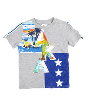 T-Shirts - Color Block Tee (4-7)