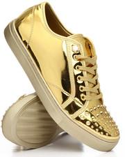 FARANZI - Evans Metallic Spike Low Sneaker
