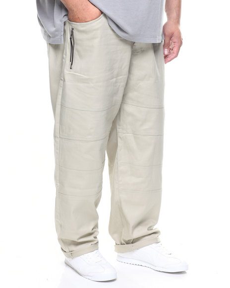 Akademiks - Chopper Tassel Zipper Pant (B&T)