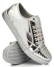 FARANZI - Evans Metallic Spike Low Sneakers-2196540